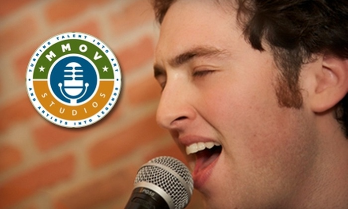 MMOV Studios - Lewisville: $35 for One Private Vocal Lesson at MMOV Studios in Lewisville ($79 Value)