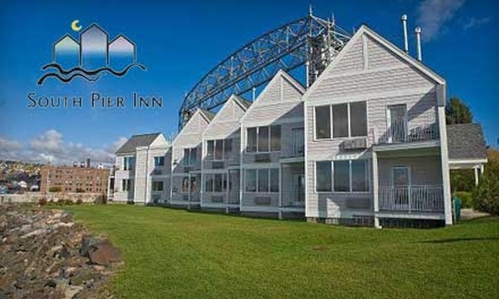 South Pier Inn - Park Point: $93 for One Night Stay in a Deluxe Waterfront Suite at South Pier Inn (Up to a $187 Value)