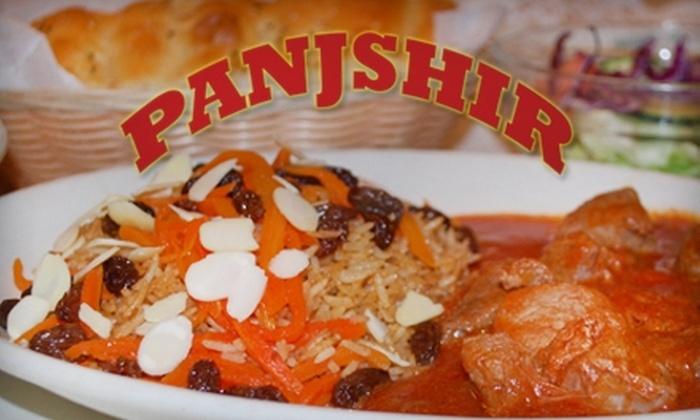 Panjshir - Falls Church: $15 for $30 Worth of Authentic Afghan Fare at Panjshir in Falls Church