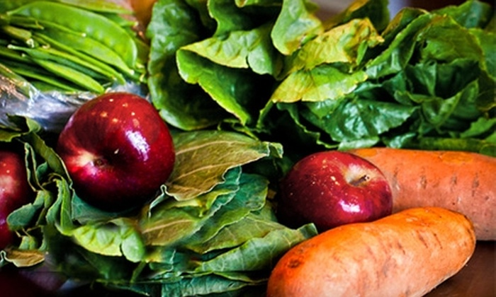 South Mountain Veggies: $19 for a Family Share Box of Fruits and Vegetables from South Mountain Veggies