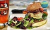 People's Organic Coffee & Wine Café - Peoples Organic Cafe : Two-Course Dinner for Two or Four at People's Organic Coffee House & Wine Café in Edina (Up to 52% Off)