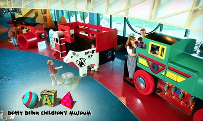 Betty Brinn Children's Museum - Juneau Town: $12 for Four Tickets to The Betty Brinn Children's Museum (Up to $24 Value)