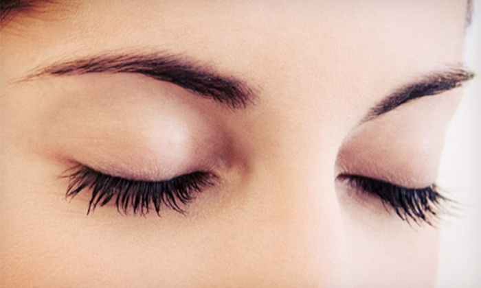 Allure Day Spa - Coral Gables: Set of Eyelash Extensions with Optional Makeup Application at Allure Day Spa (Up to 64% Off)