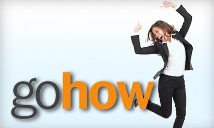 gohow: $39 for a Four-Month Membership to GoHow Career Development ($100 Value)