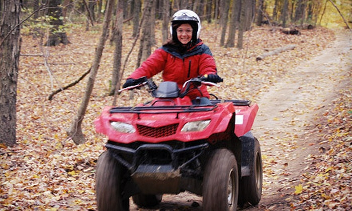 Ohio ATV World - Logan: $89 for a Two-Hour ATV-Rental Package with Challenge-Course Access and Photo from Ohio ATV World in Logan ($184 Value)