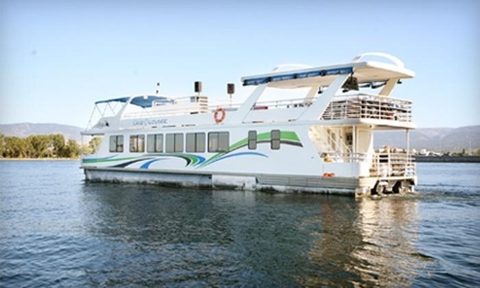 The Lake Lounge on Okanagan - Kelowna: $25 for a Dinner Cruise from The Lake Lounge on Okanagan