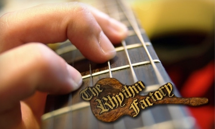 The Rhythm Factory - Boise: $50 for One Month of Guitar Lessons at The Rhythm Factory ($125 Value)