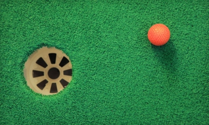 Alien Vacation Mini Golf - North Olmsted: $8 for Two Admissions to Alien Vacation Mini Golf in North Olmsted (Up to $17 Value)