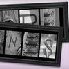 Frame the Alphabet: $74 for a Customized Alphabet Frame from Frame the Alphabet