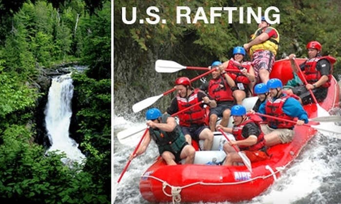 U.S. Rafting - West Forks: $20 for a Moxie Falls Hiking Trip from U.S. Rafting ($40 Value)