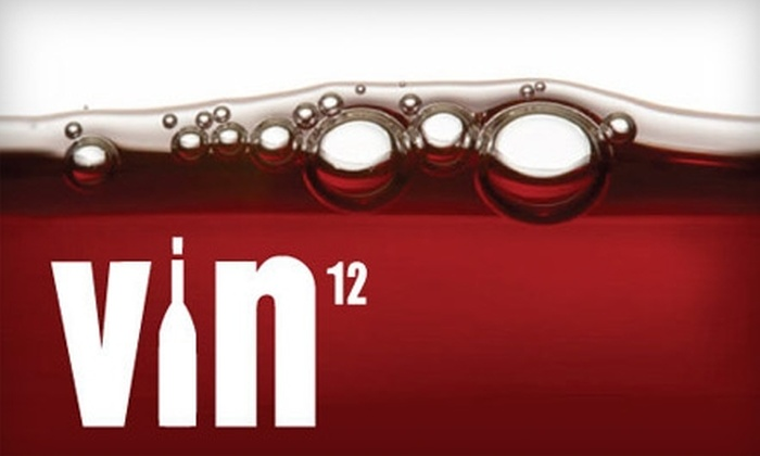 VIN12 - SoMa: $30 for Two Tickets to VIN12 Unlimited Wine-Tasting Event on Thursday, February 24