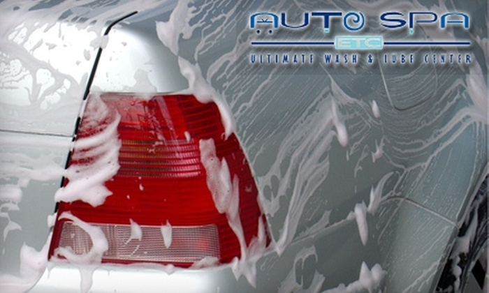 Auto Spa Etc. - Multiple Locations: $30 for Two Rain-X Ultimate Spa Car Washes at Auto Spa Etc. ($64 Value)