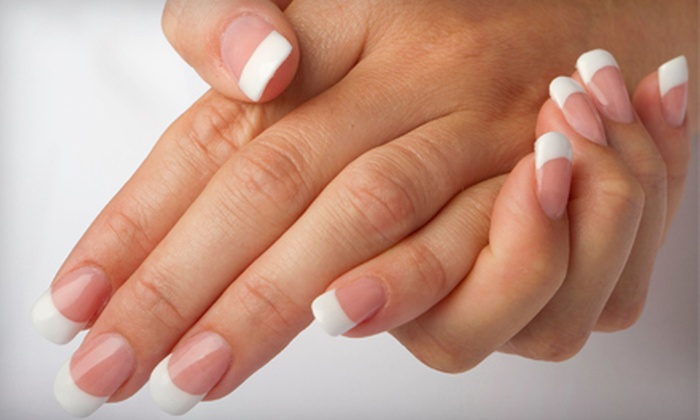 Laura Nails & Spa - West Little Havana: $30 for Two Shellac Manicures and $30 Worth of Waxing Services at Laura Nails & Spa ($90 Value)