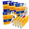 Remanufactured Ink Cartridges by Kodak - Compatible with HP, Canon, Epson, and Brother Printers