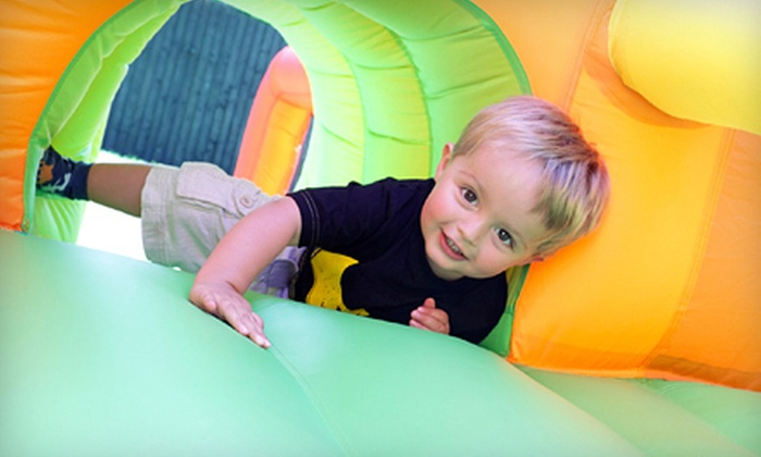 Monkey Town Party & Play Center - Huntsville: 5 or 10 Open-Play Visits or a Kid's Party for Up to Eight at Monkey Town Party & Play Center (Half Off)