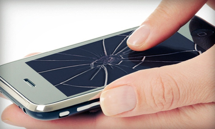 Mobile Basics - City Centre: Screen Replacement for an iPhone 3 or 3GS, or 4 or 4S at Mobile Basics (Up to 52% Off)