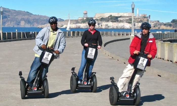 The Electric Tour Company - Fisherman's Wharf: $40 for a Segway Tour of Fisherman's Wharf and the Waterfront from The Electric Tour Company ($70 Value)