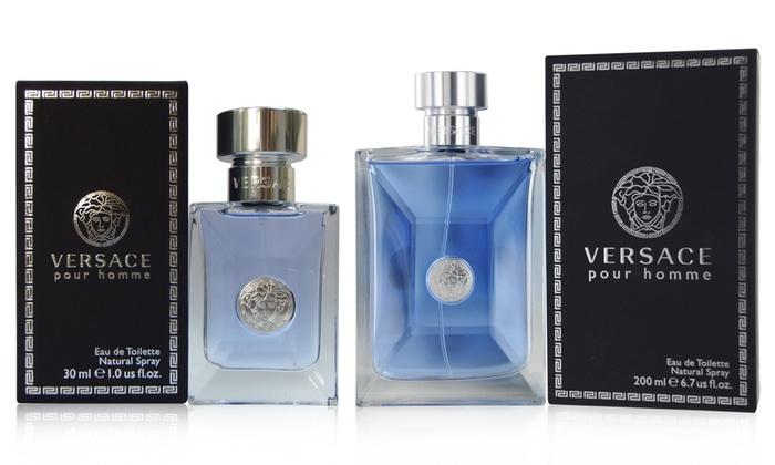 Versace Pour Homme Eau de Toilette; Assorted Sizes | Groupon