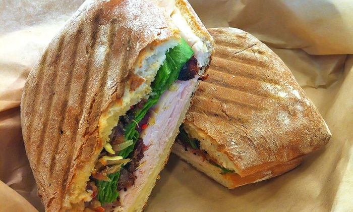 Carvery Kitchen - Santa Monica: Dipped Sandwiches, Salads, and International Food at Carvery Kitchen (Up to 48% Off). Two Options Available.