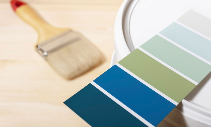 Geovanny Decorating - Seven Eagles: Interior-Painting Services for One or Three Rooms from Geovanny Decorating (72% Off)