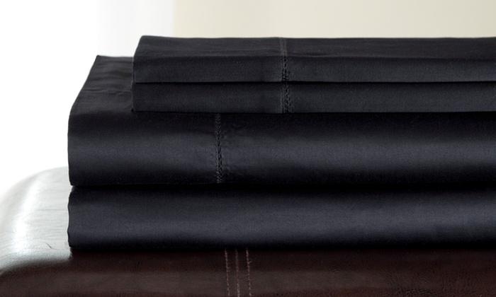 500 thread count egyptian cotton sheets andiamo 500 threadcount egyptian cotton sheet sets sheets groupon goods