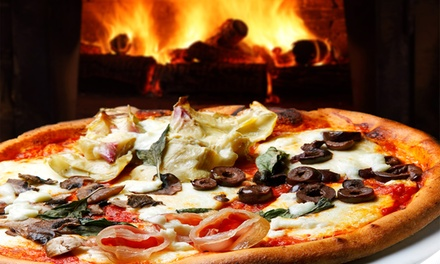 $12 for $20 Worth of Pizza at Bricknfire Pizza Company