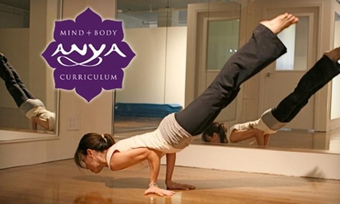 Studio Anya - Kips Bay: $40 for Six Yoga, Mat Pilates, Belly Dance, Budokon, Ballet, or Modern Dance Classes at Studio Anya ($120 Value)