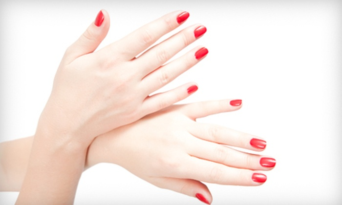 Canary Crystal Salon and Spa - Multiple Locations: Spa Package with Facial and Hand Massage, or Shellac Manicure at Canary Crystal Salon and Spa in New Albany (63% Off)