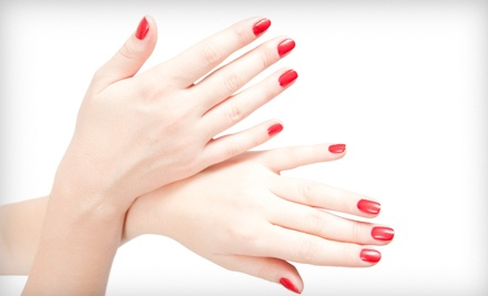 Shellac Manicure (a $40 value) - Canary Crystal Salon and Spa in New Albany