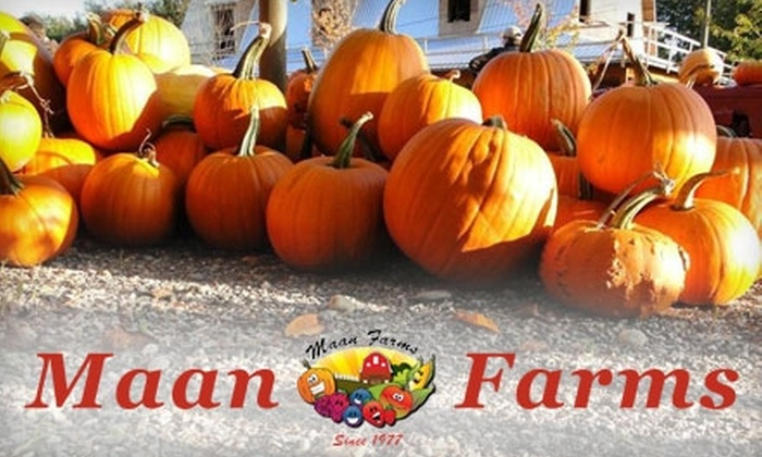 Maan Farms - Vancouver: $8 for Two Adult Admission Tickets to Maan Farms in Abbotsford ($16 Value)