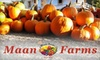 Maan Farms - South Poplar: $8 for Two Adult Admission Tickets to Maan Farms in Abbotsford ($16 Value)