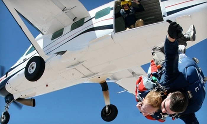 Skydive Central New York - Cato: $149 for a Tandem Skydive at Skydive Central New York ($249 Value)