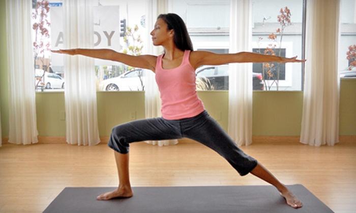 Bam Bu Lah Yoga Studio & Boutique - Marina Del Ray: 6 or 10 Yoga Classes Plus 20% Boutique Discount at Bam Bu Lah Yoga Studio & Boutique in Marina Del Rey