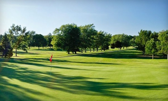 Skyland Golf Course - Hinckley: Round of Golf with a Cart Rental at Skyland Golf Course in Hinckley. Two Options Available.