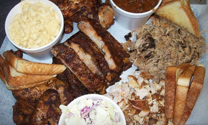 Gator Q - Turkey Creek Forest: Southern Barbecue Meal for Two or Four at Gator Q in High Springs (Up to 53% Off)