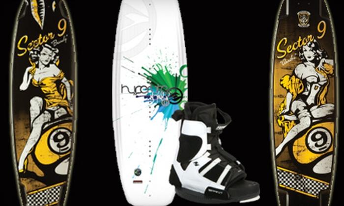 Wake-N-Skate Boardshop - West Omaha: $35 for $75 Worth of Board-Sports Gear and Apparel at Wake-N-Skate Boardshop