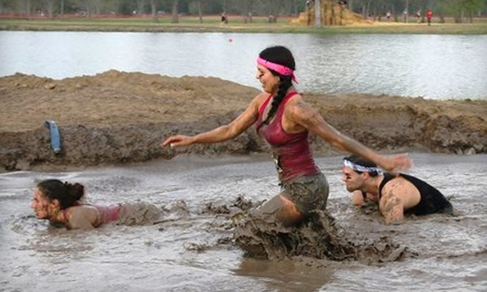 Racing Humans - Conroe: $50 for Two Admissions to Racing Humans 5K Mud Run in Conroe ($100 Value)