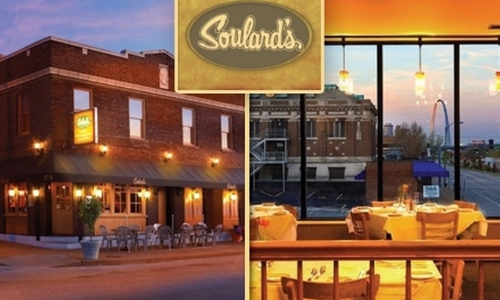 Soulard's  - Soulard: $22 for $45 Worth of Fine American Dining and Drinks at Soulard's