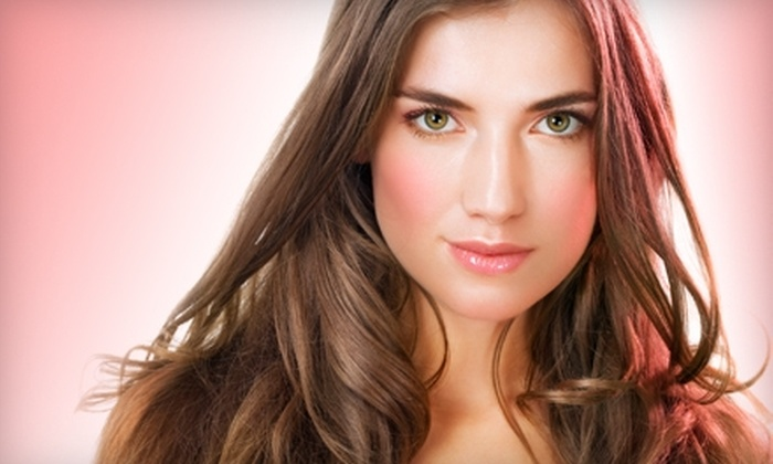 Salon Debonaire - Tuckahoe: $125 for Keratin Complex or Brazilian Blowout Zero Smoothing Treatment at Salon Debonaire