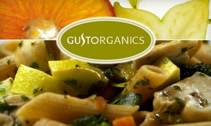 GustOrganics - West Village: $15 for $30 Worth of Organic Fare at GustOrganics