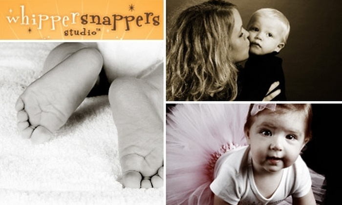 whippersnappers studio - Keller Town Center: $39 for a 45-Minute Photo Session and Your Choice of Prints from whippersnappers studio