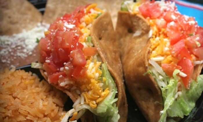 El Nopalito Restaurant and Tortilliera - Encinitas: Mexican Cuisine for Lunch or Dinner at El Nopalito Restaurant and Tortilliera in Encinitas