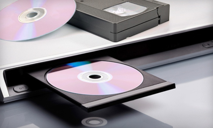 MotoPhoto - Multiple Locations: Two, Four, or Six Hours of Video-to-DVD Conversion at MotoPhoto (Up to 59% Off)