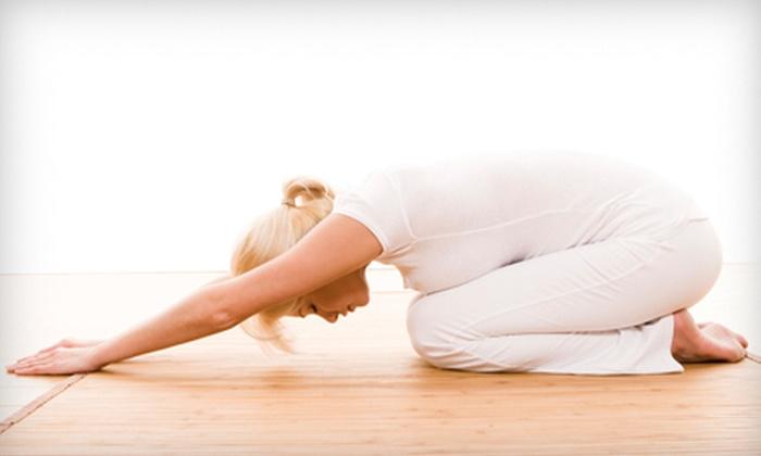 KarmaYoga Studio - West London: 10, 20, or 100 Yoga Classes or One Year of Unlimited Yoga Classes at KarmaYoga Studio (Up to 61% Off)