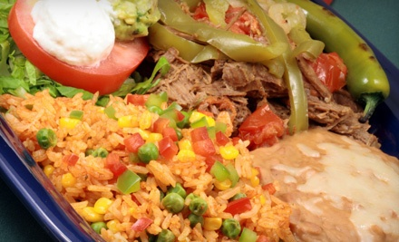 $20 Groupon to Daniels Mexican Restaurant - Daniels Mexican Restaurant in Eugene