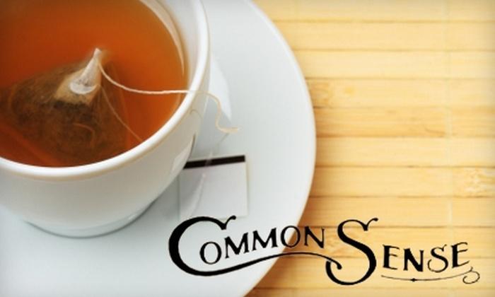 Common Sense Market - Winnipeg: $18 for 100 Bags of Yerba Maté Tea and One Cup of Hot Yerba Maté Tea at Common Sense Market ($36 Value)