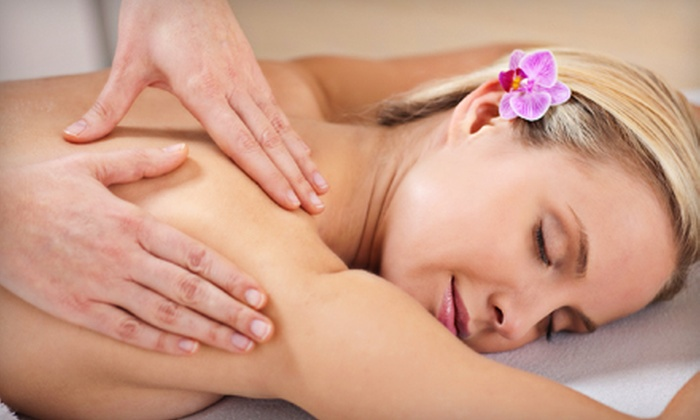 Spa at HealthRidge - Corporate Ridge: Spa Day with Facial, Swedish Massage, and Mani-Pedi for One or Two at Spa at HealthRidge (Up to 55% Off)