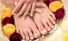 Nails by Angela Davis - Gainesville: Spa Me Mani-Pedis or Acrylic Nails at Nails by Angela Davis (Up to 62% Off). Three Options Available.