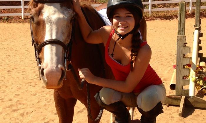 Shananagin Farm/ Pure Potential Farm - Holly Springs: $52 for $110 Worth of Horseback Riding — Pure Potential Farm