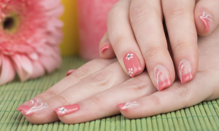 The Nail Room - The Nail Room at The Gallery Salon: No-Chip Manicure and Pedicure Package from the nail room (45% Off)